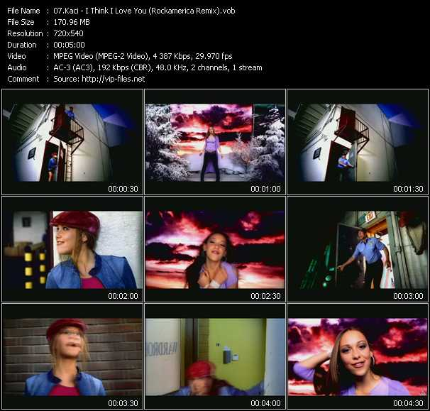 Kaci video screenshot