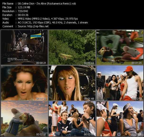 video I'm Alive (Rockamerica Remix) screen