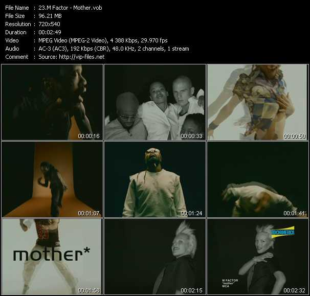 M Factor video screenshot