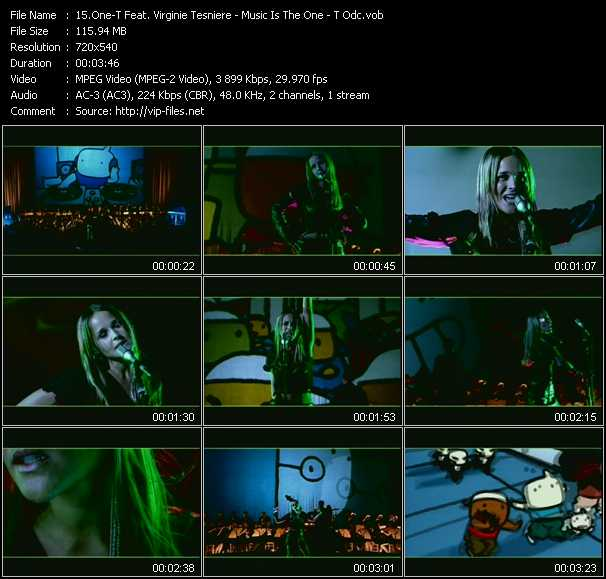 One-T Feat. Virginie Tesniere video screenshot