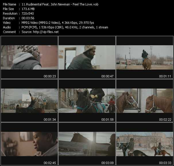 Rudimental Feat. John Newman video screenshot