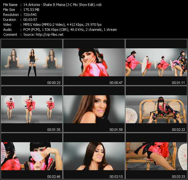 Antonia video screenshot