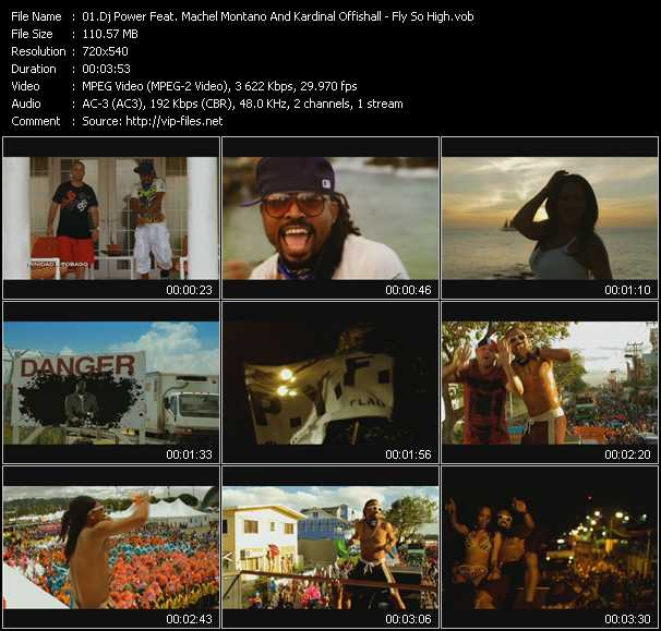 Dj Power Feat. Machel Montano And Kardinal Offishall video screenshot