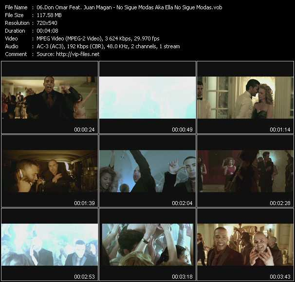 Don Omar Feat. Juan Magan video screenshot