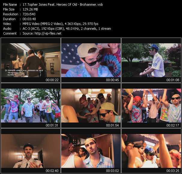Topher Jones Feat. Heroes Of Old video screenshot