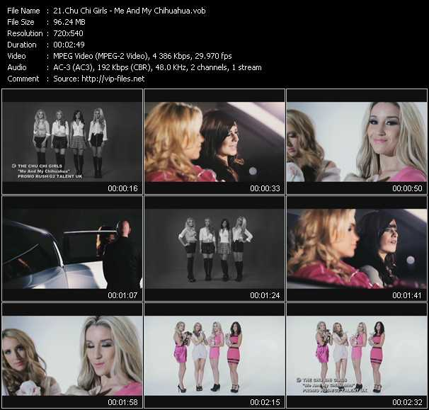 Chu Chi Girls video screenshot