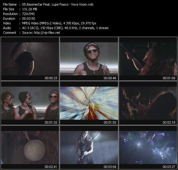 Bassnectar Feat. Lupe Fiasco video screenshot