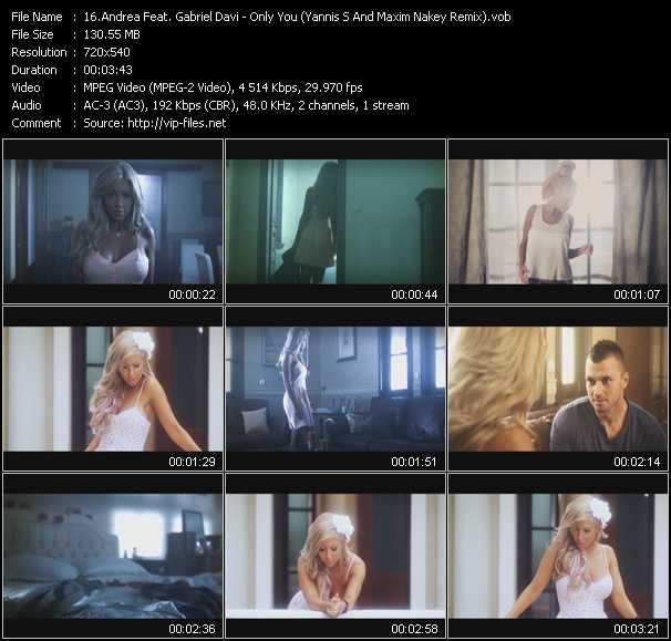 Andrea Feat. Gabriel Davi video screenshot
