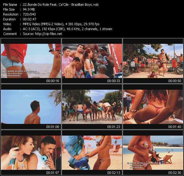 Bonde Do Role Feat. Ce'Cile video screenshot