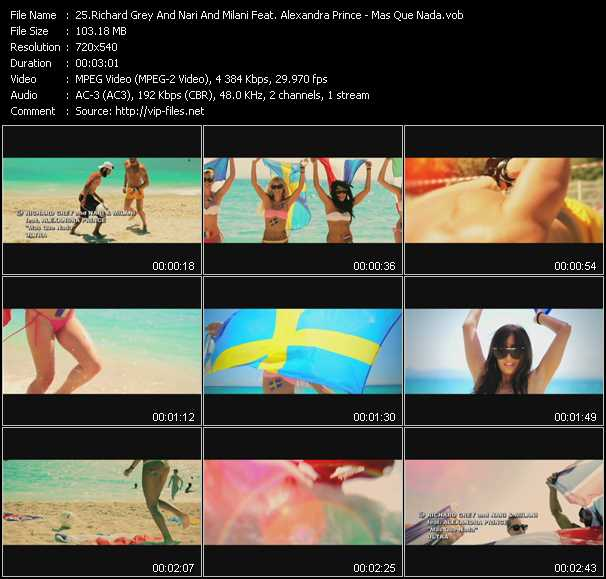 Richard Grey And Nari And Milani Feat. Alexandra Prince video screenshot