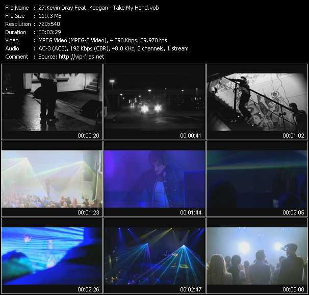 Kevin Dray Feat. Kaegan video screenshot