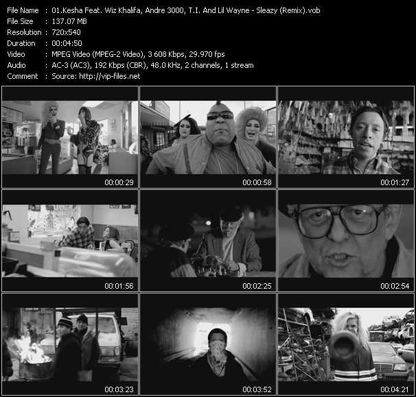 video Sleazy (Remix) screen