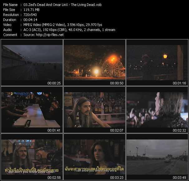 Zed's Dead And Omar LinX video screenshot