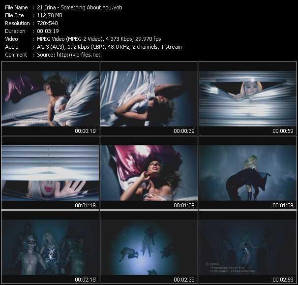 Irina video screenshot