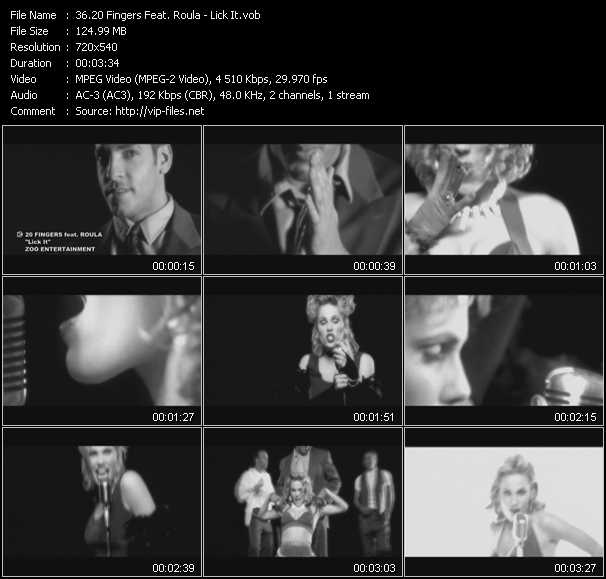 20 Fingers Feat. Roula video screenshot