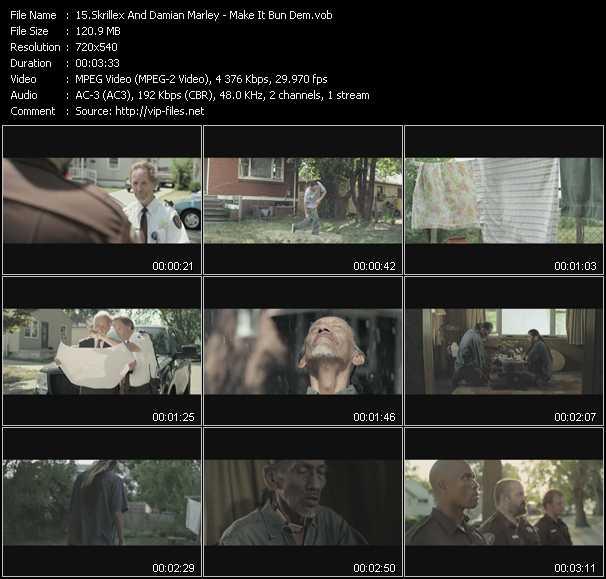 Skrillex And Damian Marley video screenshot