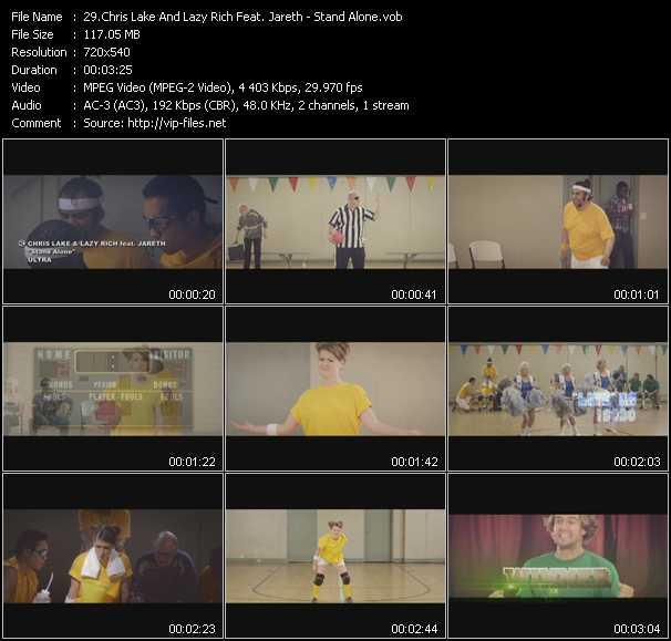 Chris Lake And Lazy Rich Feat. Jareth video screenshot