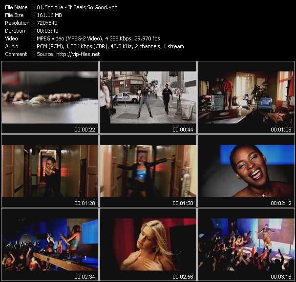 Sonique video screenshot