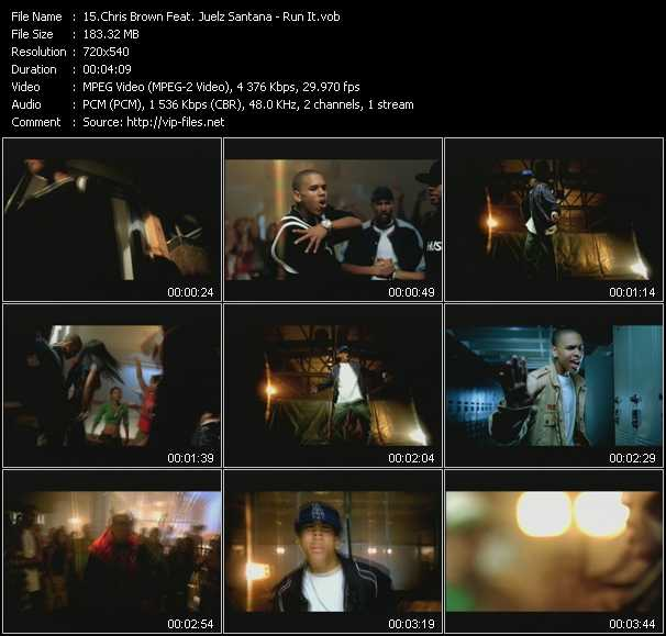 Chris Brown Feat. Juelz Santana video screenshot
