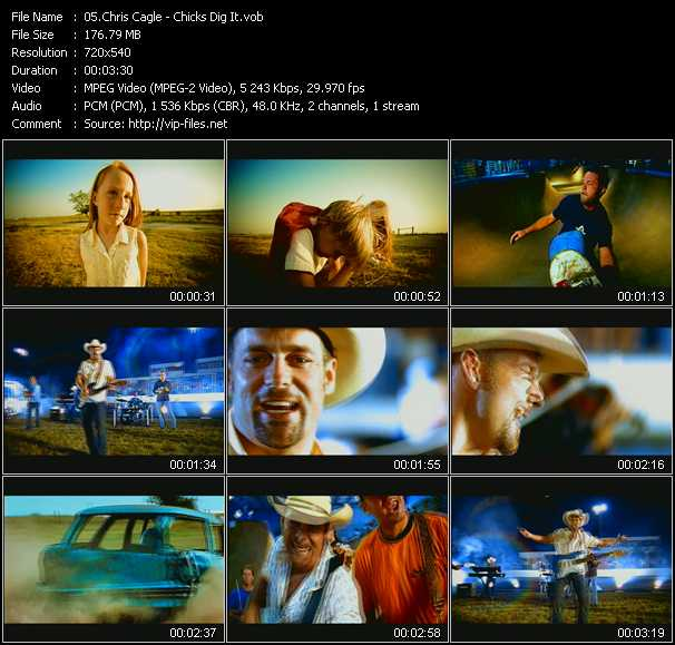 Chris Cagle video screenshot