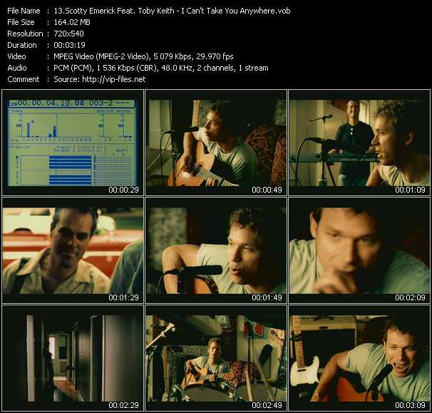 Scotty Emerick Feat. Toby Keith video screenshot