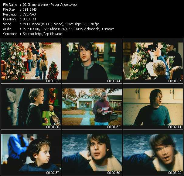 Jimmy Wayne video screenshot