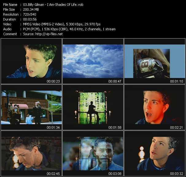 Billy Gilman video screenshot