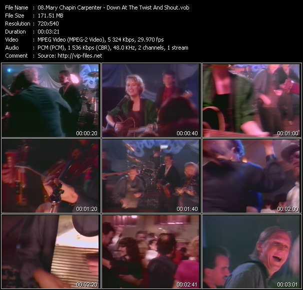 Mary Chapin Carpenter video screenshot