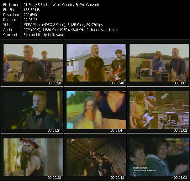 Forty 5 South video screenshot