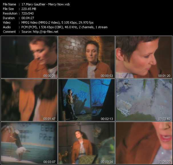 Mary Gauthier video screenshot