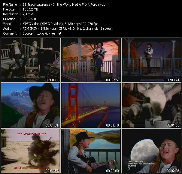 Tracy Lawrence video screenshot