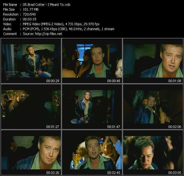 Brad Cotter video screenshot