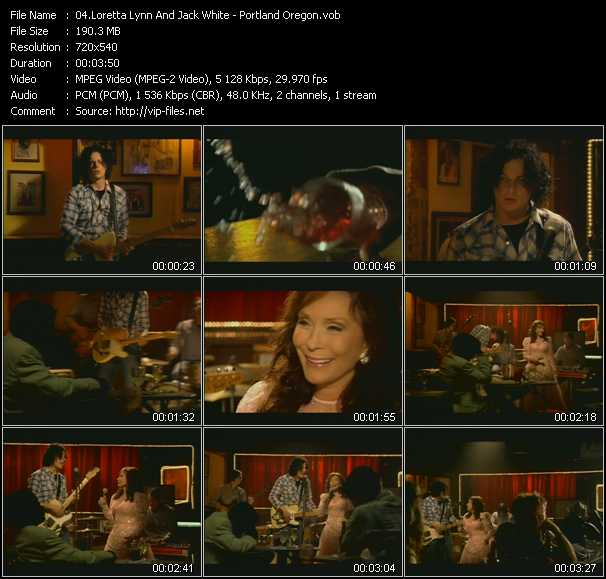 Loretta Lynn And Jack White video screenshot