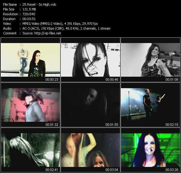 Reset video screenshot