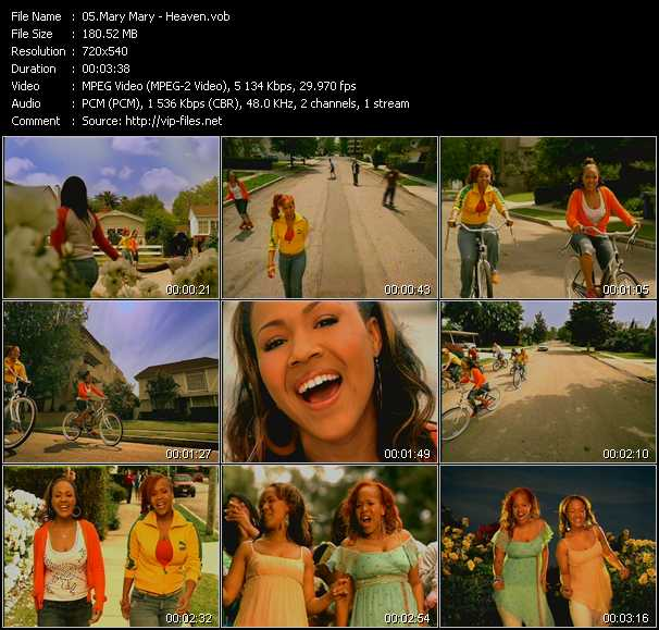 Mary Mary video screenshot