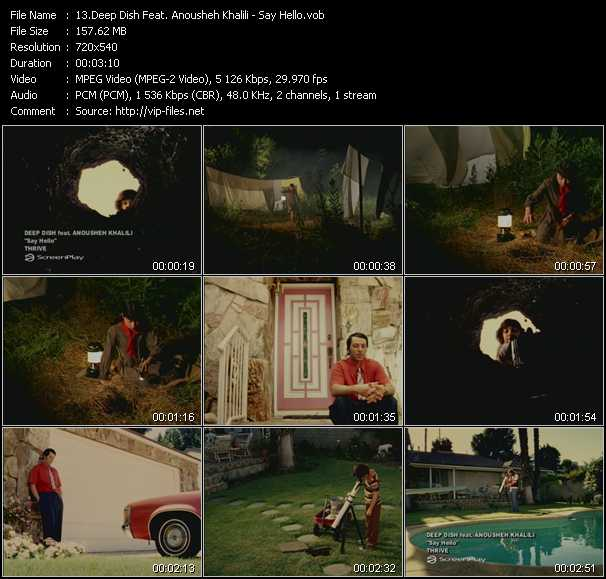 Deep Dish Feat. Anousheh Khalili video screenshot