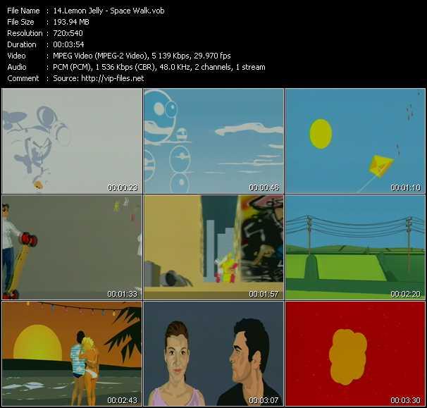 Lemon Jelly video screenshot