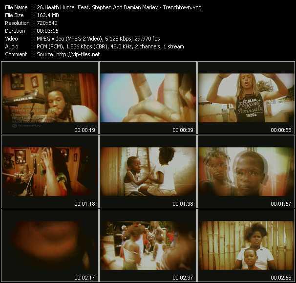 Heath Hunter Feat. Stephen And Damian Marley video screenshot
