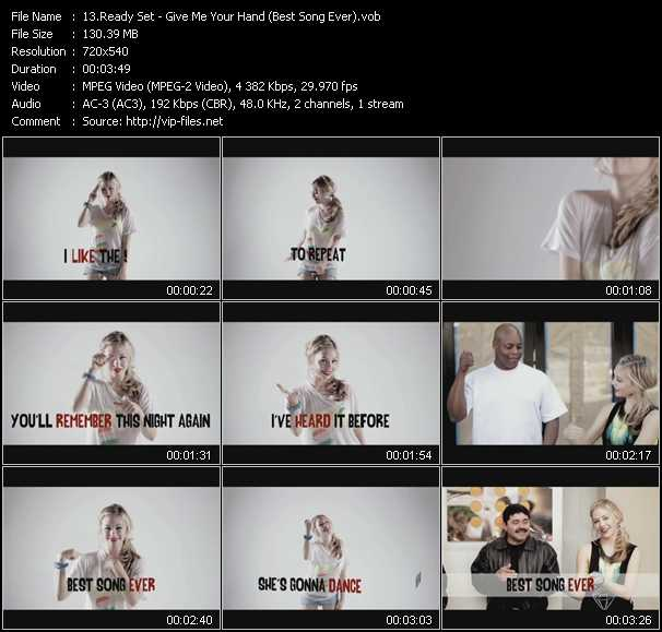 Ready Set video screenshot