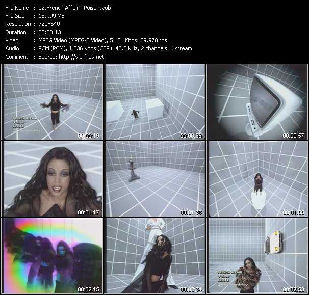 French Affair video screenshot