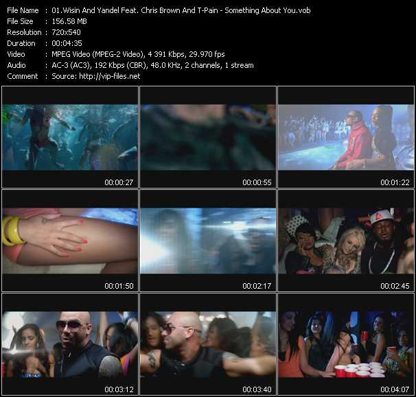 Wisin And Yandel Feat. Chris Brown And T-Pain video screenshot