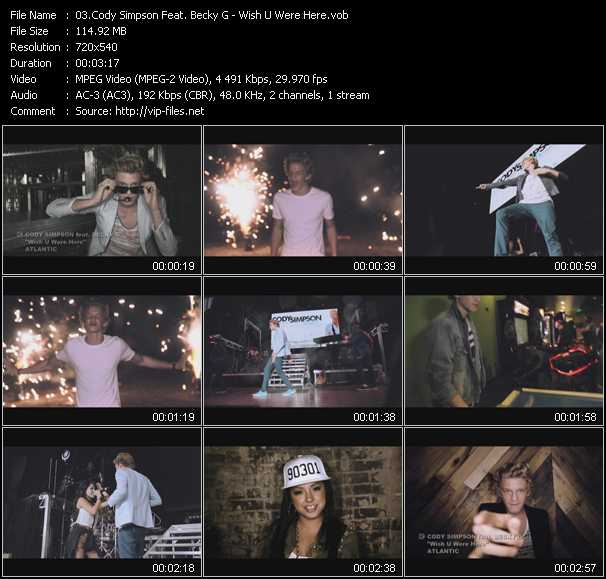 Cody Simpson Feat. Becky G video screenshot