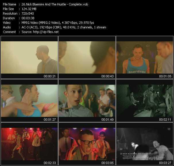 Nick Blaemire And The Hustle video screenshot