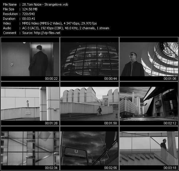 Tom Noize video screenshot