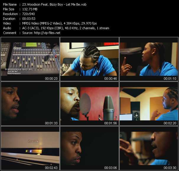 Woodson Feat. Bizzy Boy video screenshot