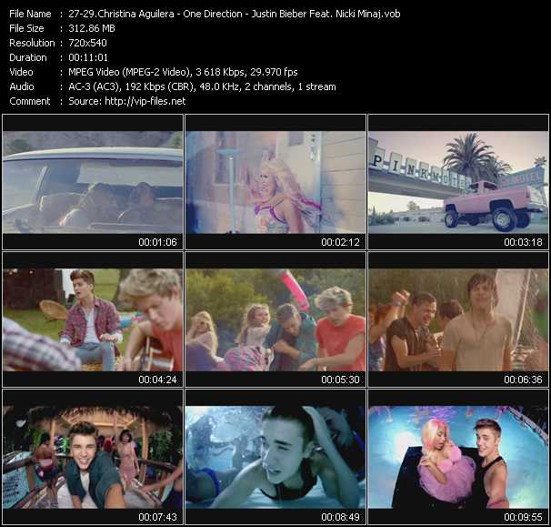 video Your Body - Live While We're Young - Beauty And A Beat screen
