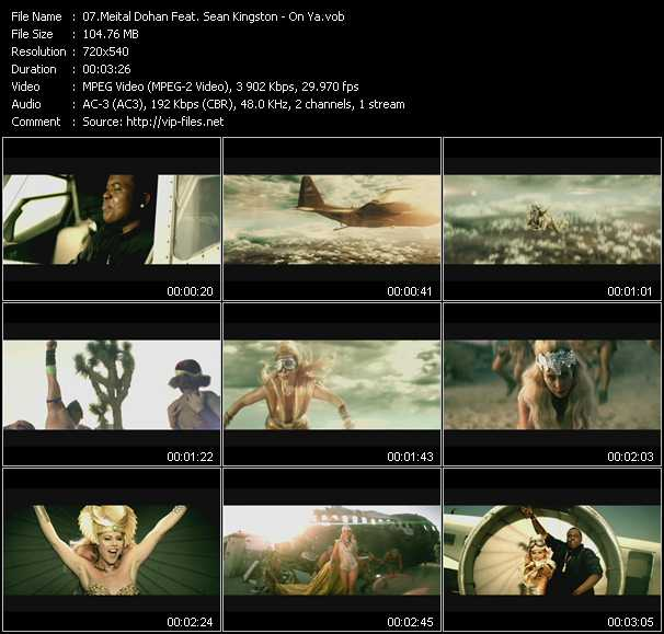 Meital Dohan Feat. Sean Kingston video screenshot
