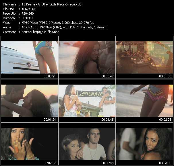 Keana video screenshot