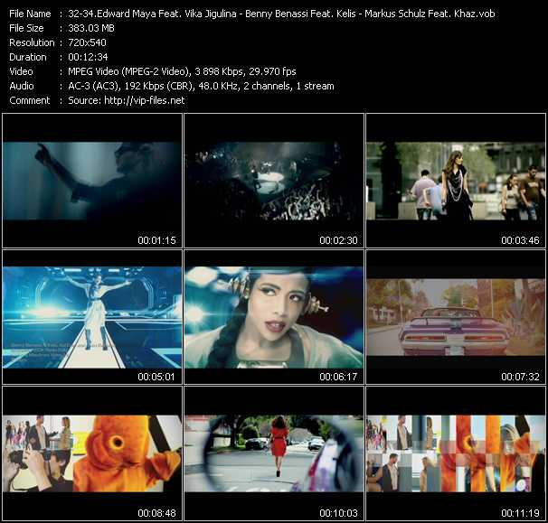 Edward Maya Feat. Vika Jigulina - Benny Benassi Feat. Kelis, Apl.D.Ap And Jean-Baptiste - Markus Schulz Feat. Khaz video screenshot