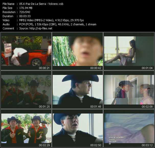 K-Paz De La Sierra video screenshot